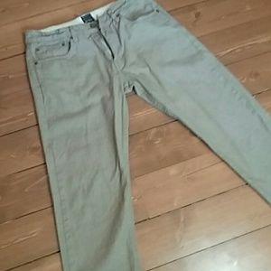 Goodale NY men's denim tan jeans 32x32